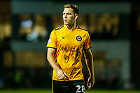 Mickey Demetriou of Newport County after the final whistle of the Sky Bet League Two match between Newport County and Crawley Town at Rodney Parade, Newport, Wales, UK. 19 January 2018