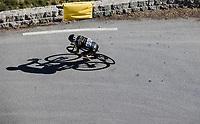 Lukaz Mezgek (CZE/Mitchelton Scott) descending <br /> Col de Turini<br /> <br />  107th Tour de France 2020 (2.UWT)<br /> (the 'postponed edition' held in september)<br /> Stage 2 from Nice to Nice 186km<br /> ©kramon