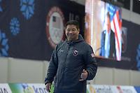 SPEEDSKATING: 12-02-2020, Utah Olympic Oval, ISU World Single Distances Speed Skating Championship, Ryan Shimabukuro (coach USA), ©Martin de Jong