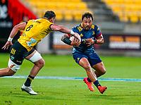 30th April 2021; Wellington, New Zealand;  Highlanders Ash Dixon.  Hurricanes versus  Highlanders, Super Rugby, Sky Stadium, Wellington New Zealand, Friday 30 April 2021.