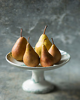 Gastronomy: Poires // Gastronomy,  Pears<br />  - Stylisme : Valérie LHOMME