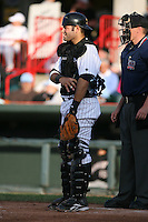 May 30, 2009:  Catcher Alex Avila of the Erie Seawolves during a game at Jerry Uht Park in Erie, PA.  The Seawolves are the Double-A Eastern League affiliate of the Detroit Tigers.  Photo By Mike Janes/Four Seam Images