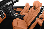 Front seat view of a 2018 BMW M4 Base 2 Door Convertible front seat car photos