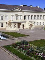 Schloss Herrenhausen, Großer Garten der barocken Herrenhäuser Gärten, Hannover, Niedersachsen, Deutschland, Europa<br /> Palace Schloss Herrenhausen, Great Garden of baroque Herrenhausen Gardens, Hanover, Lower Saxony, Germany, Europe