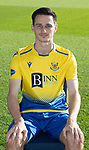 St Johnstone FC 2020-21 Season.<br />Scott Tanser<br />Picture by Graeme Hart.<br />Copyright Perthshire Picture Agency<br />Tel: 01738 623350  Mobile: 07990 594431