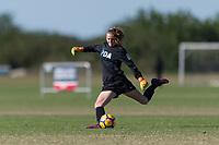 Lakewood Ranch, FL - Sunday Dec. 10, 2017: Meagan McClelland (15) during the 2017 Development Academy Winter Showcase & Nike International Friendlies at Premier Sports Campus at Lakewood Ranch, FL.