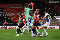 Wayne Hennessey of Crystal Palace claims a high ball during AFC Bournemouth vs Crystal Palace, Carabao Cup Football at the Vitality Stadium on 15th September 2020