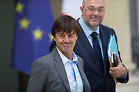 French Minister of the Ecological and Social Transition Nicolas Hulot leaves the Elysee presidential palace following the weekly cabinet meeting on Wednesday, 28 June 2017 in Paris # CONSEIL DES MINISTRES DU 28/06/2017