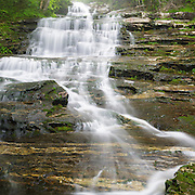 This is the image for April in the 2014 White Mountains New Hampshire calendar. Kinsman Notch - Beaver Brook Cascades along the Appalachian Tail in the White Mountain National Forest of New Hampshire USA. Purchase the calendar here: http://bit.ly/1audUBp .