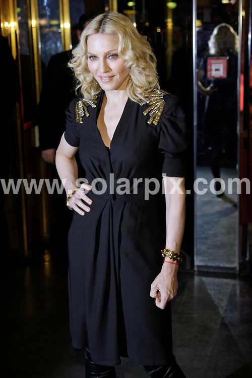 **ALL ROUND PICTURES FROM SOLARPIX.COM**.**SYNDICATION RIGHTS FOR UK AND SPAIN ONLY**.Celebs at the red carpet for the premiere of the movie 'Filth And Wisdom' during the 58th International Filmfestival 'Berlinale' in Berlin, Germany. 13th February 2008..This pic: Madonna..JOB REF:  5783  CPR        DATE: 13_02_2008.**MUST CREDIT SOLARPIX.COM OR DOUBLE FEE WILL BE CHARGED* *UNDER NO CIRCUMSTANCES IS THIS IMAGE TO BE REPRODUCED FOR ANY ONLINE EDITION WITHOUT PRIOR PERMISSION*