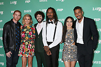 """LOS ANGELES - FEB 27:  Andrew Santino, Taylor Misiak, Dave Burd, Gata, Christine Ko, Travis Bennett at the """"Dave"""" Premiere Screening from FXX at the DGA Theater on February 27, 2020 in Los Angeles, CA"""