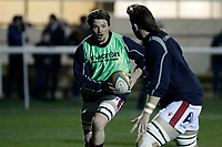 Miles Wakeling of London Scottish during the Greene King IPA Championship match between London Scottish Football Club and Nottingham Rugby at Richmond Athletic Ground, Richmond, United Kingdom on 7 February 2020. Photo by Carlton Myrie.
