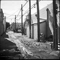 """In the alley<br /> From """"Life to waste"""" series<br /> Miami Beach, Feb 2011"""