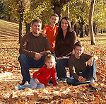 Family and individual portraits.