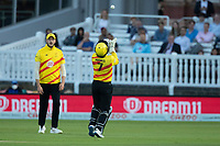 Tom Moores, Trent Rockets takes the catch to dismiss Inglis during London Spirit Men vs Trent Rockets Men, The Hundred Cricket at Lord's Cricket Ground on 29th July 2021