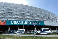 Sicherheitsaufgebot der EURO2020 in München<br /> - Muenchen 19.06.2021: Deutschland vs. Portugal, Allianz Arena Muenchen, Euro2020, emonline, emspor, <br /> <br /> Foto: Marc Schueler/Sportpics.de<br /> Nur für journalistische Zwecke. Only for editorial use. (DFL/DFB REGULATIONS PROHIBIT ANY USE OF PHOTOGRAPHS as IMAGE SEQUENCES and/or QUASI-VIDEO)