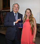 Stewart F. Lane and Bonnie Comley attends the Manhattan Jewish Hall Of Fame at General Society of Mechanics & Tradesmen of the City of New York on May 14, 2018 in New York City.