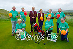 Members of the Ballybunion Golf Club launch their Irish Motor Neurone Disease Golf Classic at the club on Tuesday and it's been held on July 10th. Kneeling l to r: Louise Griffin, Del O'Sullivan and Mary Horgan. Back l to r: Donal Liston, Tony Quilter, Kevin Barry (Mens Captain), Olga Kiely (Womens Captain), Nuala Lynch and Gerry Kiely.