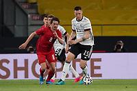 Niklas Süle (Deutschland Germany) gegen Thomas Delaney (Dänemark, Denmark) - Innsbruck 02.06.2021: Deutschland vs. Daenemark, Tivoli Stadion Innsbruck