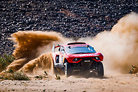 6th January 2021; Wadi Al Dawasir to Riyadh, Saudia Arabia; Dakar 2021 Rally, stage 4;  311 Roma Nani (esp), Winocq Alexandre (fra), Hunter, Bahrain Raid Extreme, BRX, Auto, action during the 4th stage of the Dakar 2021 between Wadi Al Dawasir and Riyadh, in Saudi Arabia on January 6, 2021