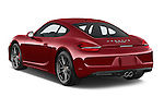 Car pictures of rear three quarter view of a 2015 Porsche Cayman S 2 Door Coupe Angular Rear