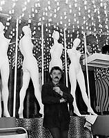 Le peintre quebecois, Jean-Paul Mousseau,<br /> 19 mai 1967<br /> <br /> PHOTO :  Agence Quebec Presse -  Photo Moderne