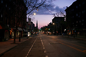 April 21, 2020<br /> Brooklyn, New York<br /> Park Slope<br /> <br /> Just before dawn on 7th Avenue at the height of the coronavirus pandemic.
