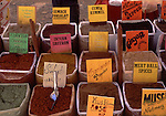Asian, TUR, Turkey, Aegean, Kusadasi, Market Stall, Spice Rack....[ For each utilisation of my images my General Terms and Conditions are mandatory. Usage only against use message and proof. Download of my General Terms and Conditions under http://www.image-box.com or ask for sending. A clearance before usage is necessary...Material is subject to royalties. Each utilisation of my images is subject to a fee in accordance to the present valid MFM-List...Contact | archive@image-box.com | www.image-box.com ]