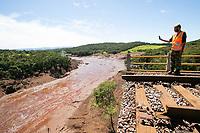 BRUMADINHO, MG, 01.02.2019: ROMPIMENTO DA BARRAGEM EM BRUMADINHO. Viaduto  no local do rompimento da barragem da Mineradora Vale, em Corrego do Feijao-Brumadinho, região metropolina de Belo Horizonte, MG, na manhã desta sexta feira (01) (foto Giazi Cavalcante/Codigo19)