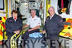 Second Lt Ann Nagle, Adj Noel Lucey and Capt Donal McCArthy Killarney Order of MAlta