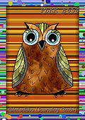 Kris, REALISTIC ANIMALS, REALISTISCHE TIERE, ANIMALES REALISTICOS, paintings+++++,PLKKE654,#a#, EVERYDAY ,owl,owls