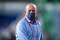 LAKE BUENA VISTA, FL - AUGUST 11: Don Garber, the Commissioner of Major League Soccer before a game between Orlando City SC and Portland Timbers at ESPN Wide World of Sports on August 11, 2020 in Lake Buena Vista, Florida.