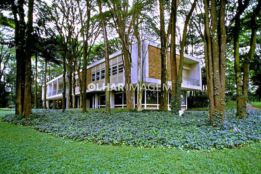 Fundação Maria Luisa e Oscar Americano, São Paulo. 1998. Foto de Juca Martins.