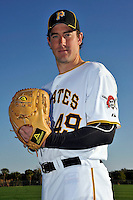 Feb 28, 2010; Bradenton, FL, USA; Pittsburgh Pirates  pitcher Ross Ohlendorf (49) during  photoday at Pirate City. Mandatory Credit: Tomasso De Rosa/ Four Seam Images