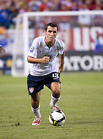 Jonathan Bornstein. The USA defeated Honduras, 2-1, in a World Cup qualifying match at Soldier Field in Chicago, IL on June 6, 2009.