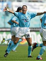 Diego Simeone Lazio<br /> Calcio 2002/2003<br /> Foto Andrea Staccioli/Insidefoto