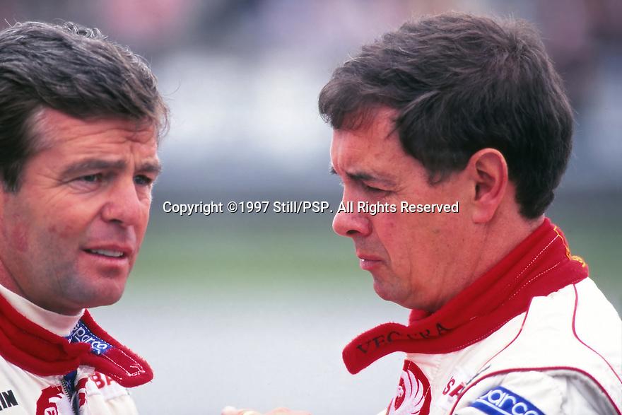 1997 British Touring Car Championship. Derek Warwick and John Cleland.