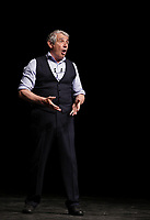 Le comique francais Michel Boujenah sur la scene de l'Olympia de Montréal, le 17 mai 2016.<br /> <br /> French comic Michel Boujenah onstage at the Olympia of Montreal, May 17, 2016.<br /> <br /> PHOTO : Pierre Roussel -  Agence Quebec Presse