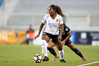 Cary, North Carolina  - Wednesday May 24, 2017: Kayla Mills during a regular season National Women's Soccer League (NWSL) match between the North Carolina Courage and the Sky Blue FC at Sahlen's Stadium at WakeMed Soccer Park. The Courage won the game 2-0.