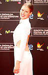 Actress Manuela Velles posses in the photocall of the 61 San Sebastian Film Festival, in San Sebastian, Spain. September 20, 2013. (ALTERPHOTOS/Victor Blanco)