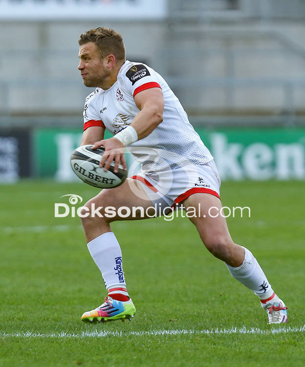 Sunday 25th October 2020 | Ulster vs Dragons<br /> <br /> Ian Madigan in action against the Dragons during the Guinness PRO14 match between Ulster and Dragons at Kingspan Stadium in Belfast. Photo by John Dickson / Dicksondigital