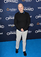 "LOS ANGELES, CA: 18, 2020: Dan Scanlon at the world premiere of ""Onward"" at the El Capitan Theatre.<br /> Picture: Paul Smith/Featureflash"