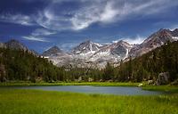 Calm morning in the Eastern Sierras, California