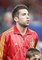 Spain's national team Jordi Alba during match. October 16, 2012. (ALTERPHOTOS/Alvaro Hernandez) /NORTEPhoto