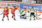 Eishockey DEL 37. Spieltag: Düsseldorfer EG vs <br /> ERC Ingolstadt am 07.04.2021 im ISS Dome in Düsseldorf<br /> <br /> Tor zum 5:4 durch Düsseldorfs Mathias From (Nr.77) (hier nicht im Bild)<br /> <br /> Foto © PIX-Sportfotos *** Foto ist honorarpflichtig! *** Auf Anfrage in hoeherer Qualitaet/Aufloesung. Belegexemplar erbeten. Veroeffentlichung ausschliesslich fuer journalistisch-publizistische Zwecke. For editorial use only.