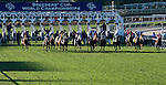 ARCADIA, CA - NOVEMBER 5: Horses leave the starting gate at the start of the the Breeders' Cup Mile during day two of the 2016 Breeders' Cup World Championships at Santa Anita Park on November 5, 2016 in Arcadia, California. (Photo by Eric Patterson/Eclipse Sportswire/Breeders Cup)