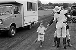 Geoffrey Van-Hay at Cowdray Park Polo Club 1981 1980s UK