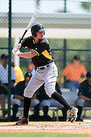 Pittsburgh Pirates Jacoby Jones (54) during a minor league spring training game against the New York Yankees on March 22, 2014 at Pirate City in Bradenton, Florida.  (Mike Janes/Four Seam Images)