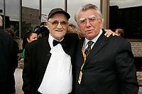 Serge Losique (L) and Dan Pita, film maker<br /> (R)<br /> Closing Reception of the 2006 World Film Festival - Festival des Films du Monde<br /> photo : Roussel  - Images Distribution