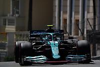 23rd May 2021; Principality of Monaco; F1 Grand Prix of Monaco,   Race Day;  Sebastian Vettel DEU 5 , Aston Martin Cognizant Formula One Team